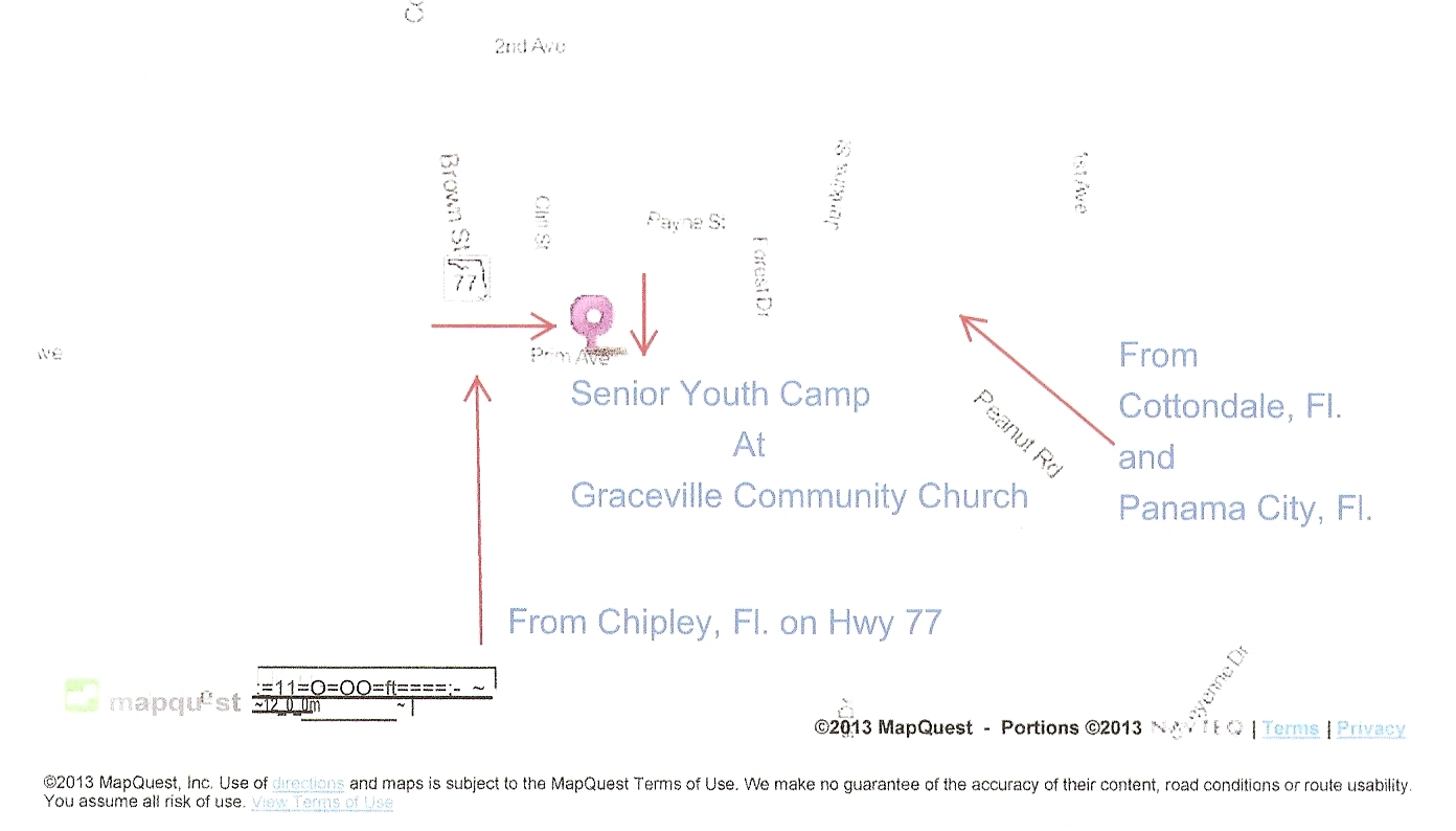 senior camp new map